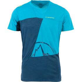 La Sportiva Workout - T-shirt manches courtes Homme - bleu/turquoise